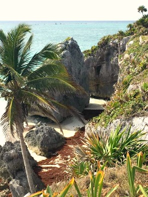 Tulum, Mexico- View from Ruins