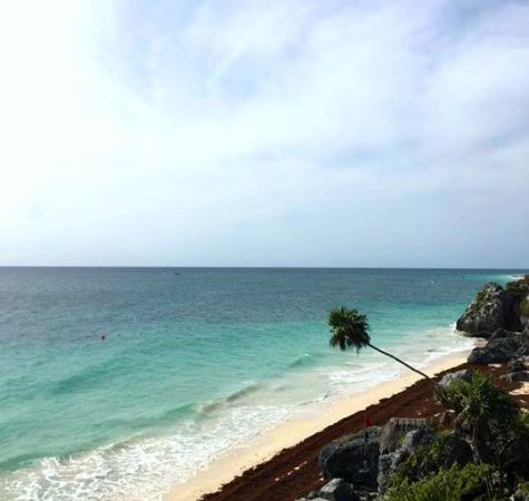 Tulum, Mexico- Ruins View