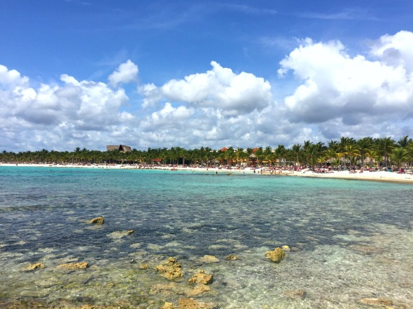 Riviera Maya- View of Barcelo Maya Resort