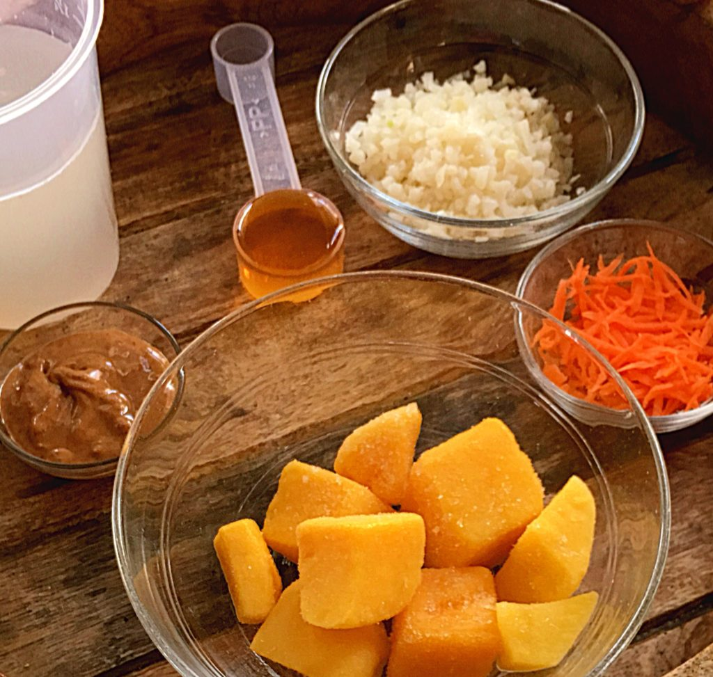 tropical mango carrot smoothie