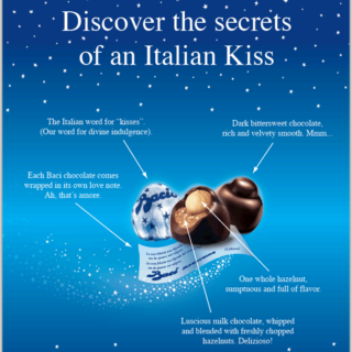 Baci Chocolate Ad
