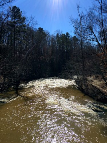 Eno River View from Bridge
