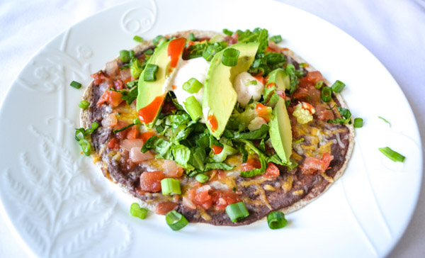 Easy Refried Black Beans Two Ways Dip And Tostadas