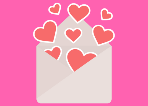 Valentine Envelope Graphic