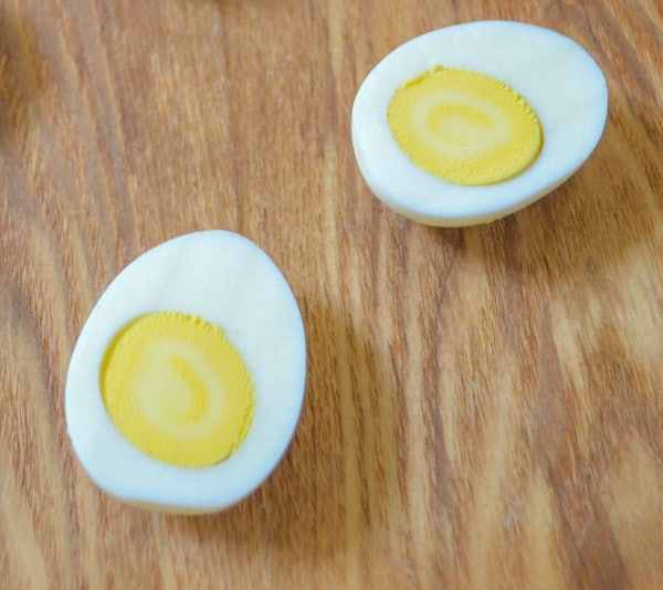 Hardboiled Egg for Perfect Creamy Deviled Eggs