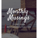 Monthly Musings June 2018
