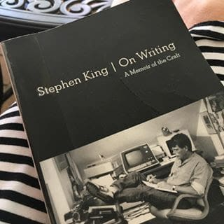 cover of Stephen King's On Writing book
