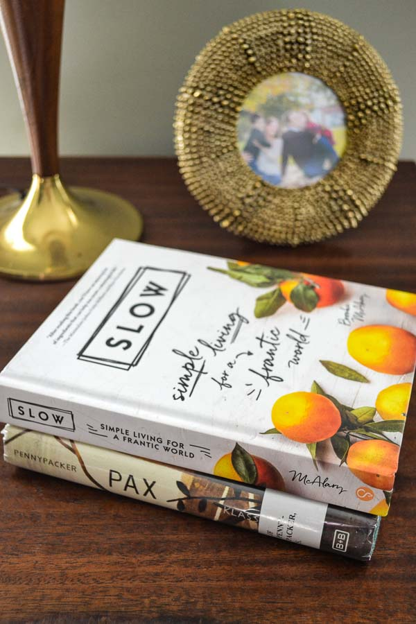 Rest & Relish Book Picks: Slow and Pax