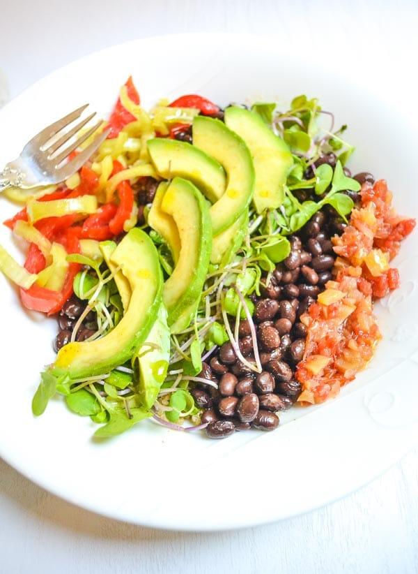 Tangy Southwest Quinoa Bowl with Lime Vinaigrette