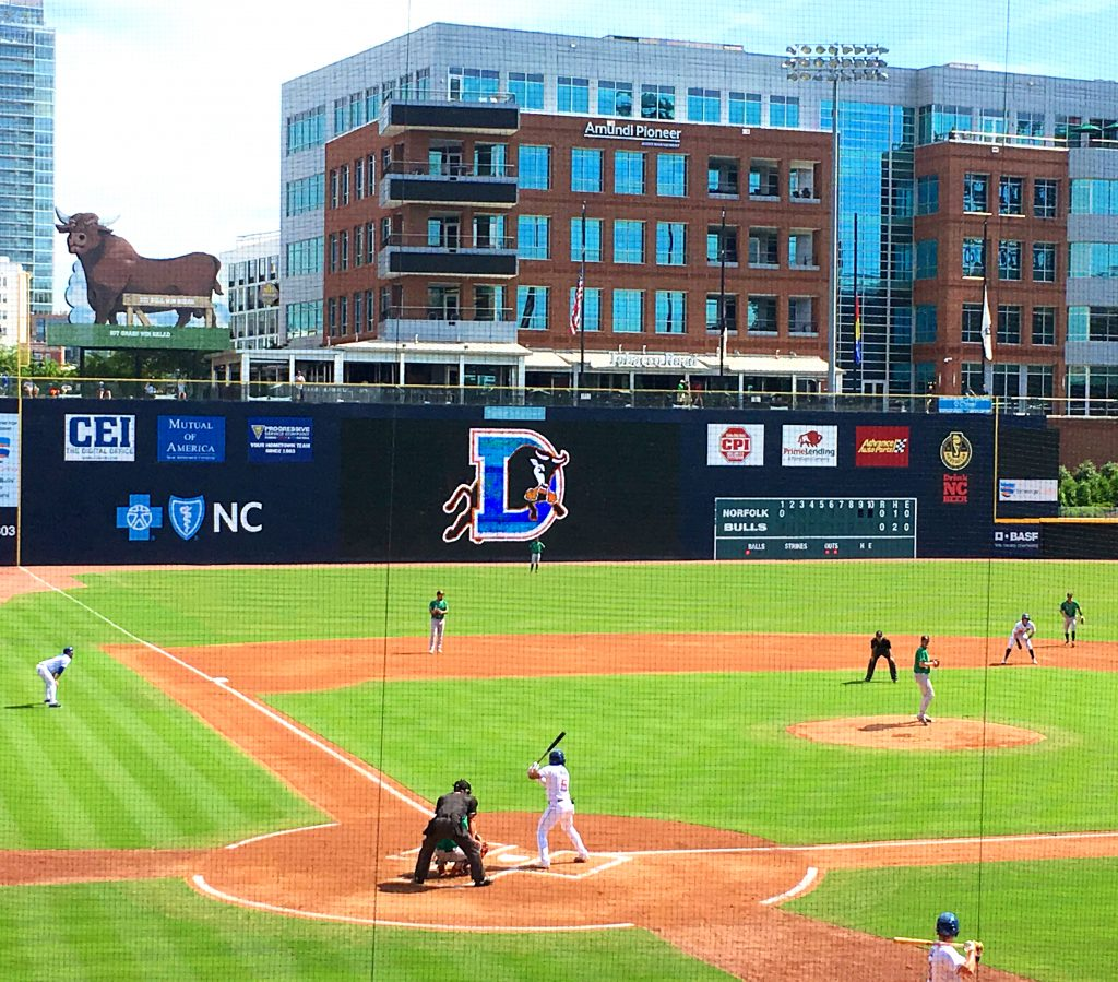 Durham Bulls First Responders Game Day