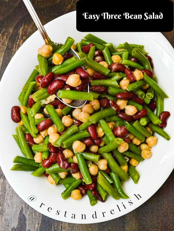 Easy Three Bean Salad
