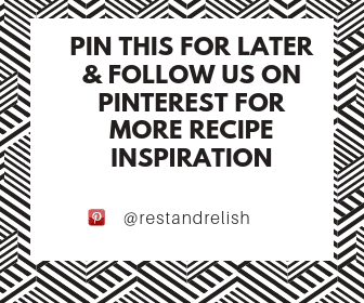 Pinterest @restandrelish